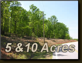 5 & 10 Acres for sale